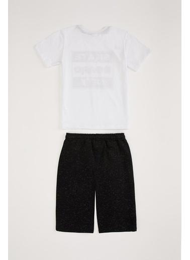 DeFacto Pijama Takım Beyaz